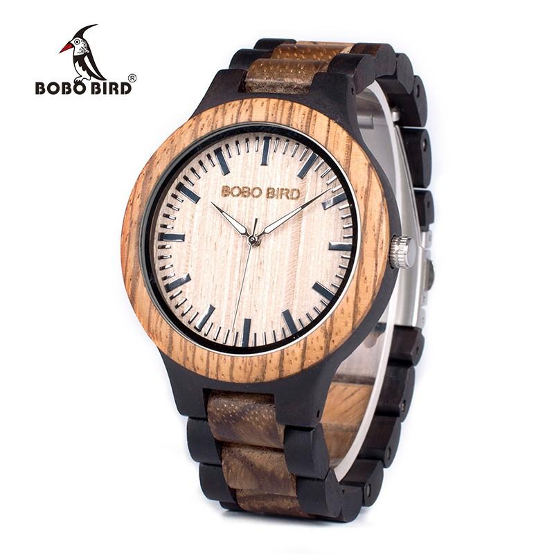 Drevené hodinky Rómeo