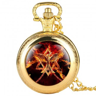 Vreckové hodinky Ohnivý Orol