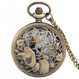 Vreckové hodinky Frozen, Ľadové kráľovstvo