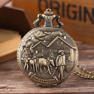 Vreckové hodinky pastieri