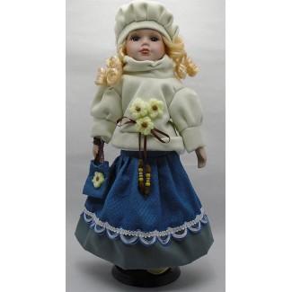 Porcelánová bábika Zuzana 40
