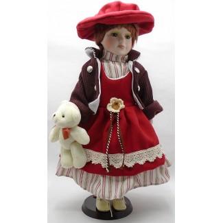 Porcelánová bábika Dorotka 40