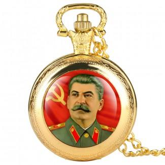Vreckové hodinky Stalin
