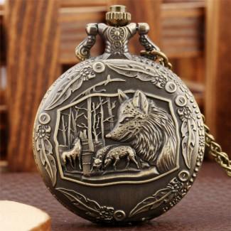 Vreckové hodinky Líšky