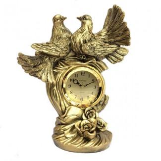 Stolové hodiny dve holubice