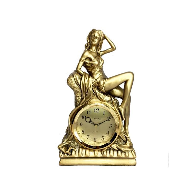 Stolové hodiny žena