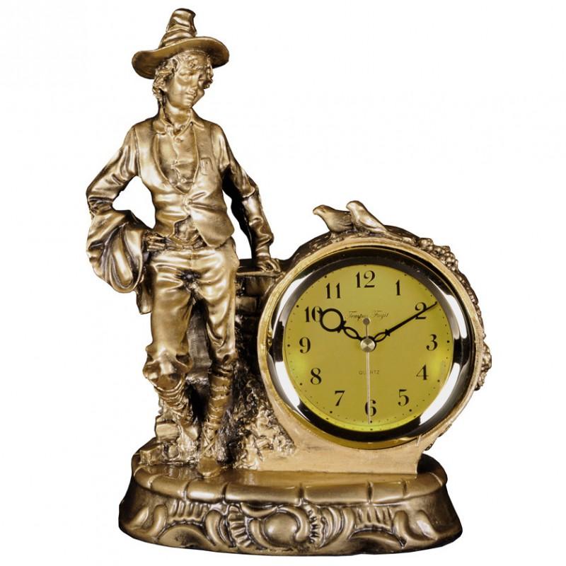 Stolové hodiny elegantný pán