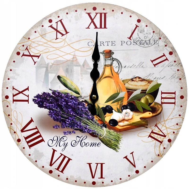 Nástenné hodiny kuchynské 34cm