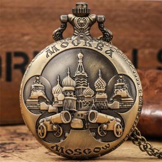 Vreckové hodinky Moskva