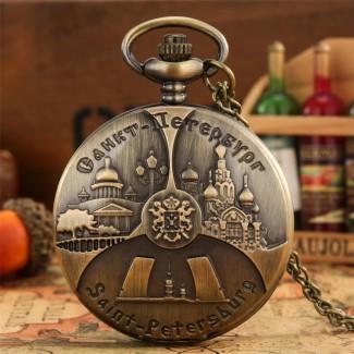 Vreckové hodinky Petrohrad
