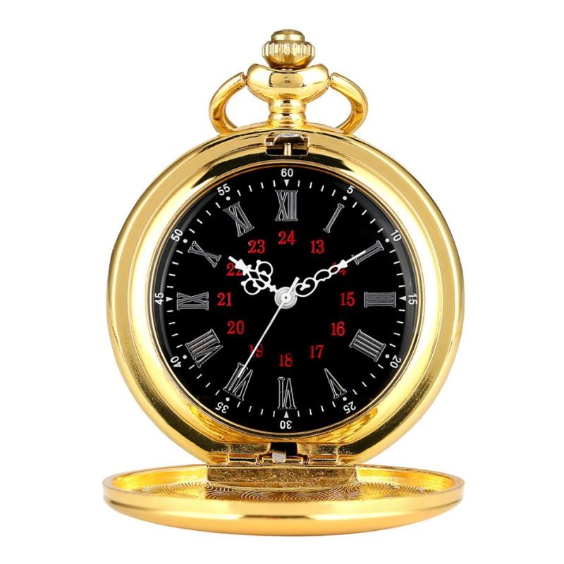 Vreckové hodinky zrkadlové s rímskymi  číslicami