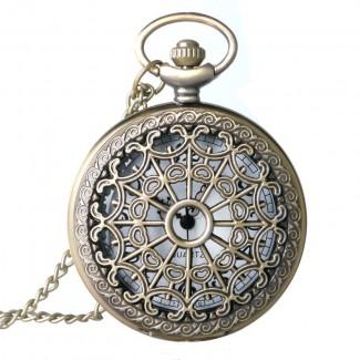 Vreckové hodinky pavučina