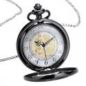 Vreckové hodinky black