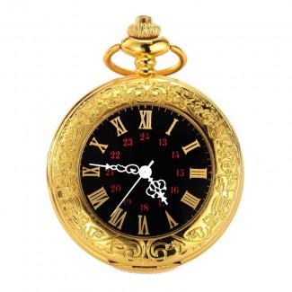 Vreckové hodinky gold