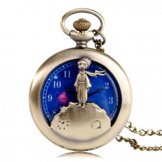 Vreckové hodinky malý princ, quartz