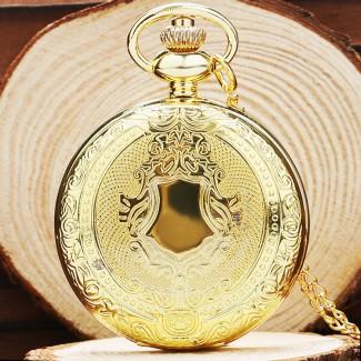 Vreckové hodinky golden bells