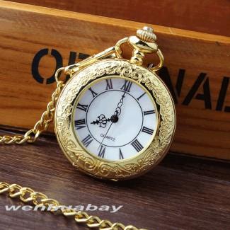 Vreckové hodinky s rímskymi číslicami