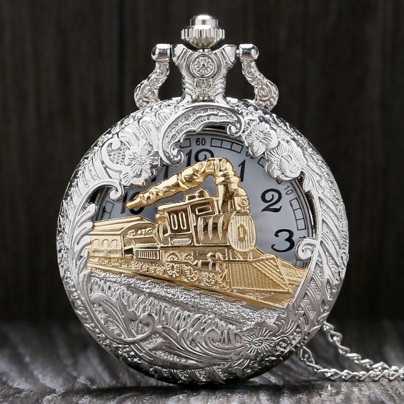 Vreckové hodinky Train