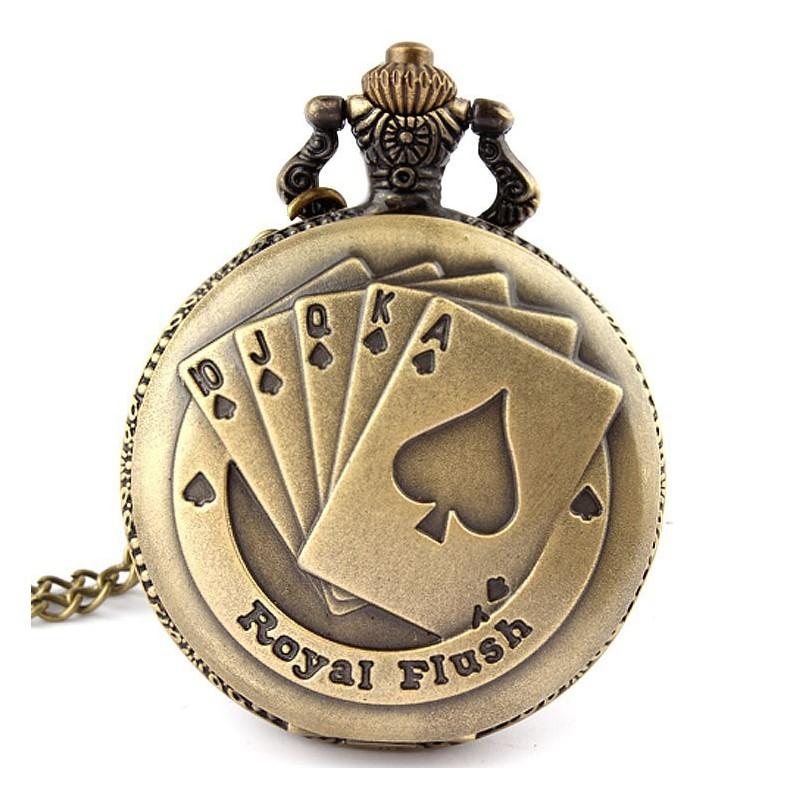 Vreckové hodinky Royal Flush