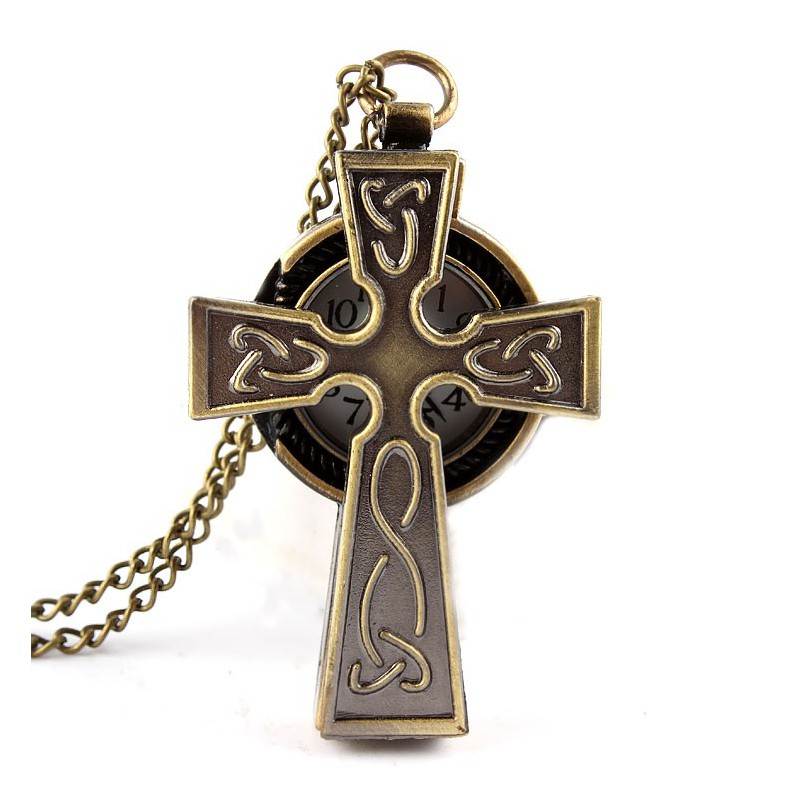 Vreckové hodinky kríž