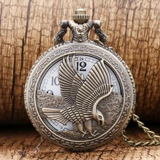 Vreckové hodinky orol