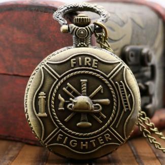 Vreckové hodinky Fire Fighter