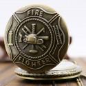 Vreckové hodinky Fire Fighter, otvorené