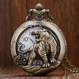 Vreckové hodinky Tiger