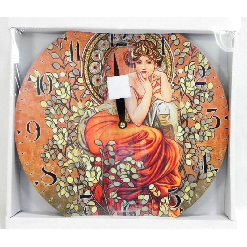 Nástenné hodiny Romantické 29cm