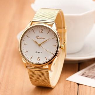Dámske náramkové hodinky Geneva Gold A