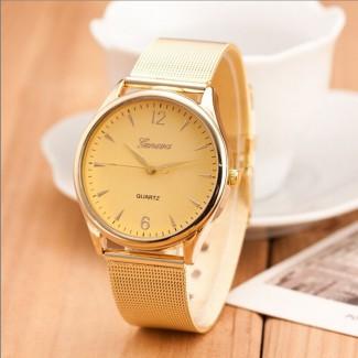 Dámske náramkové hodinky Geneva Gold B