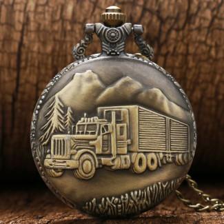 Vreckové hodinky Truck