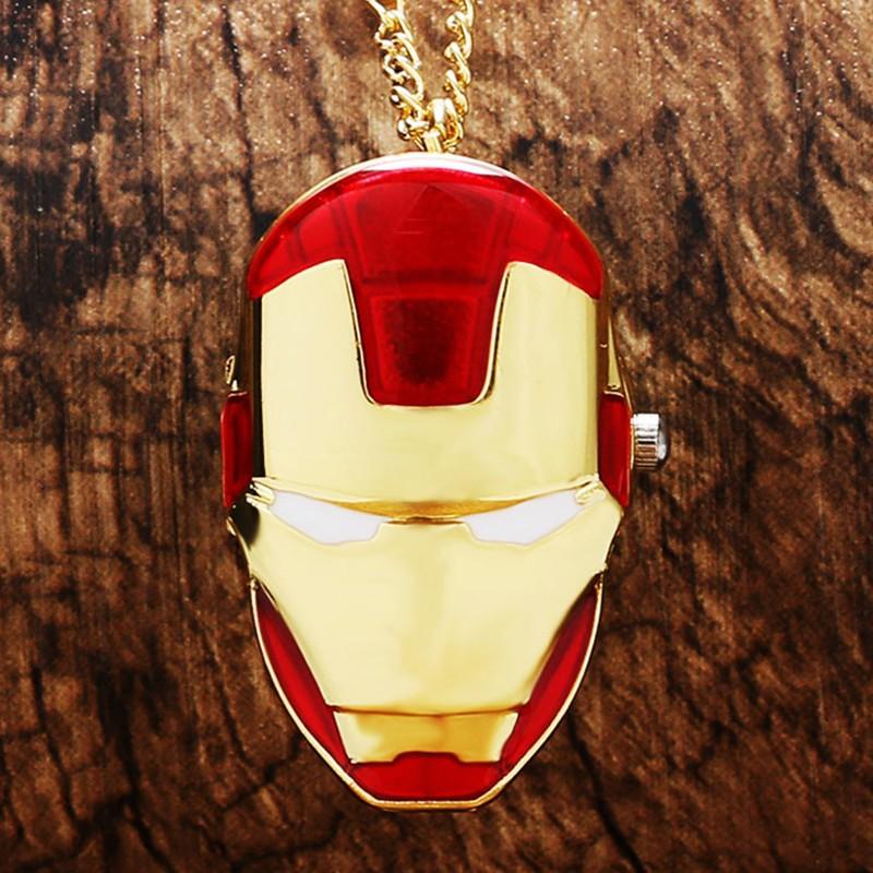Vreckové hodinky Iron Man