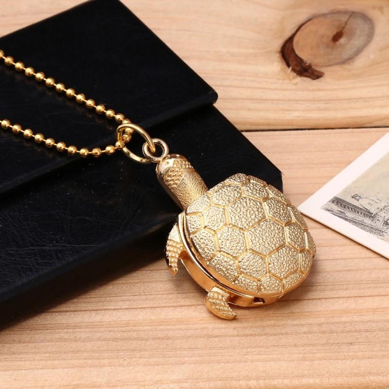 Vreckové hodinky Korytnačka Gold
