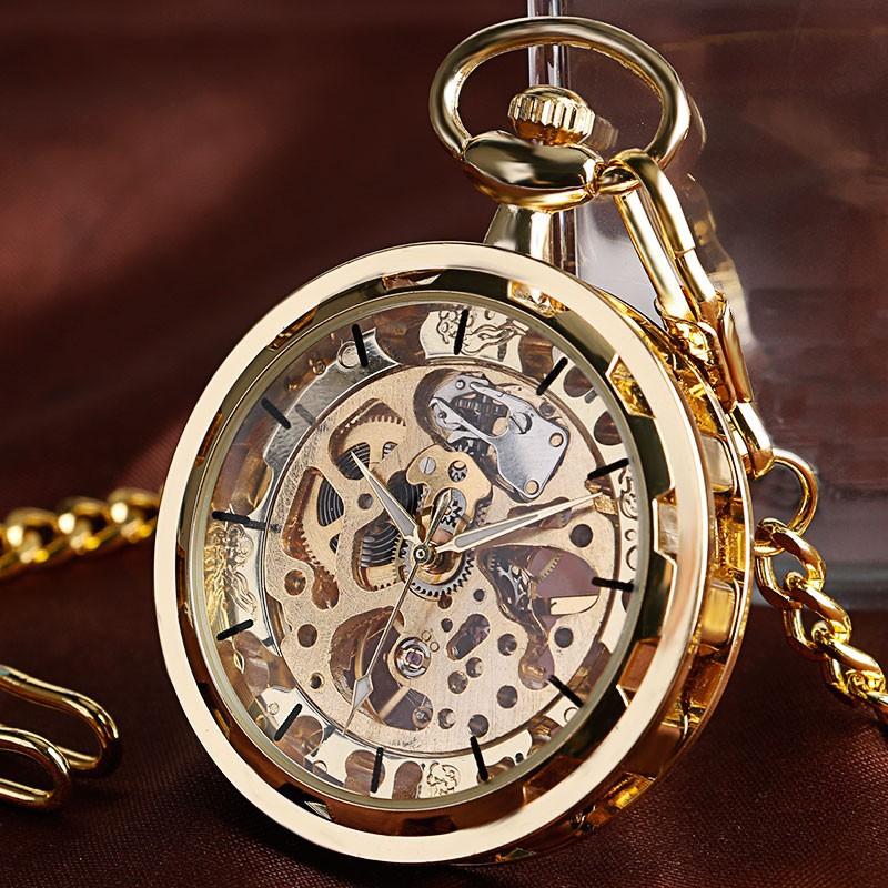 Vreckové hodinky mechanické Steampunk