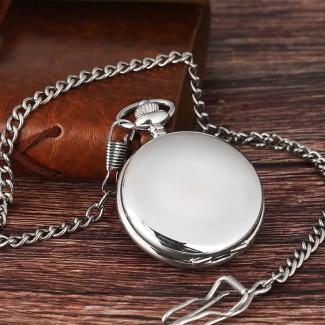 Vreckové hodinky strieborné, hodinky cibule