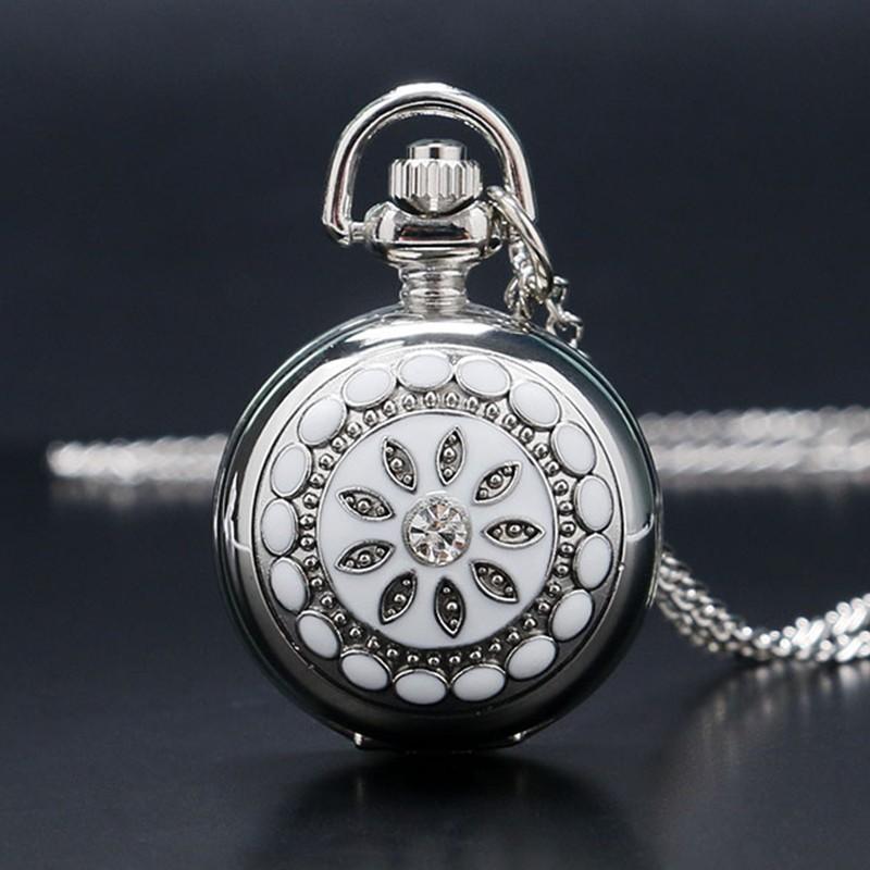 Vreckové hodinky Krištáľový kvet