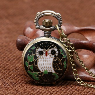 Vreckové hodinky Sova 2