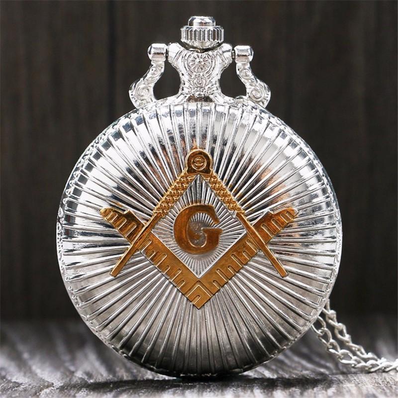 Vreckové hodinky Masonic Freemasonry