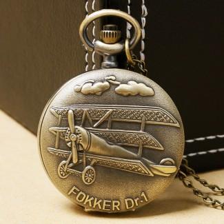 Vreckové hodinky Fokker Dr.1
