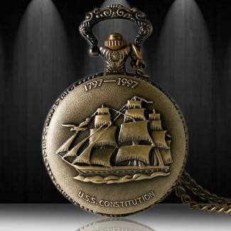 Vreckové hodinky Loď