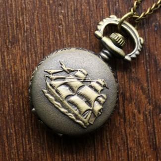 Vreckové hodinky Loď malé