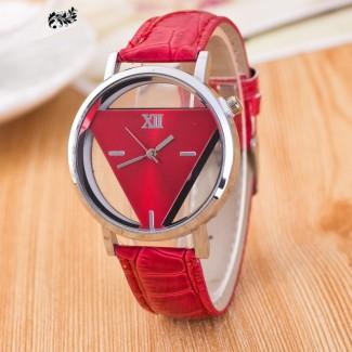 Dámske náramkové hodinky trojuholník Č