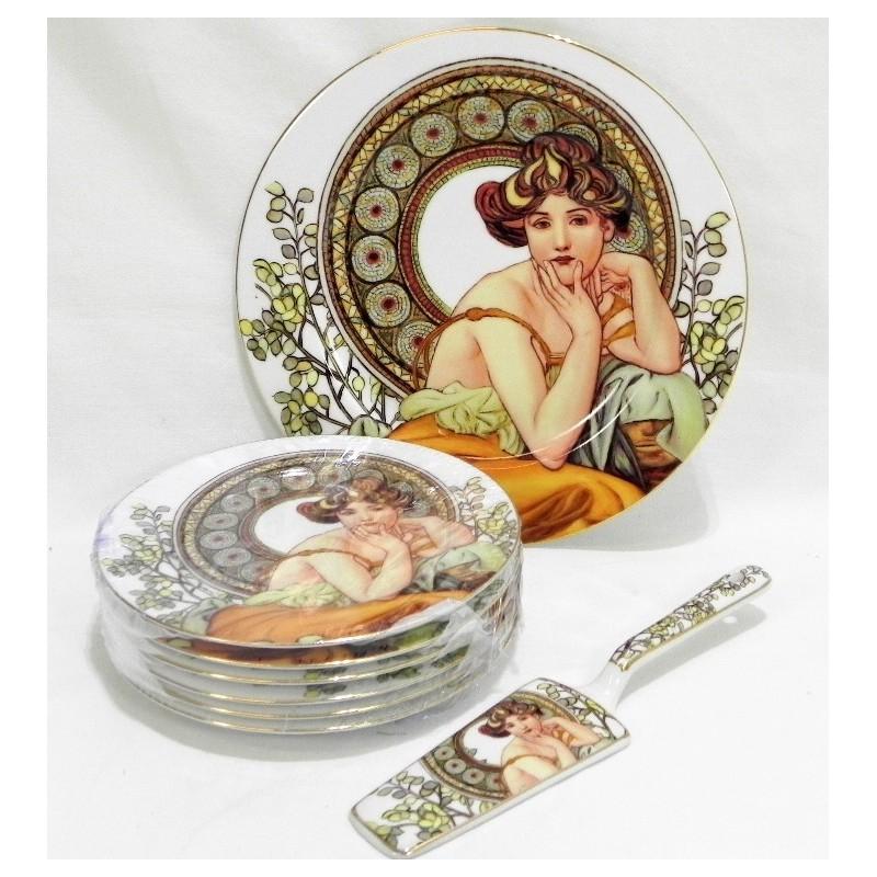 Porcelánová súprava taniere osemdielna