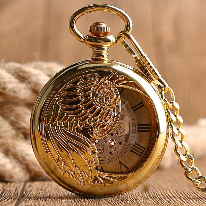 Mechanické automatické vreckové hodinky Fénix