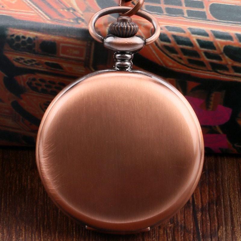 Vreckové hodinky Medené