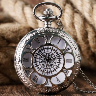 Vreckové hodinky Black Magic