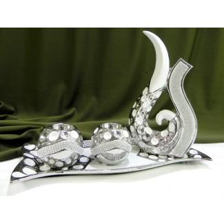 Dekoračný keramický svietnik 5