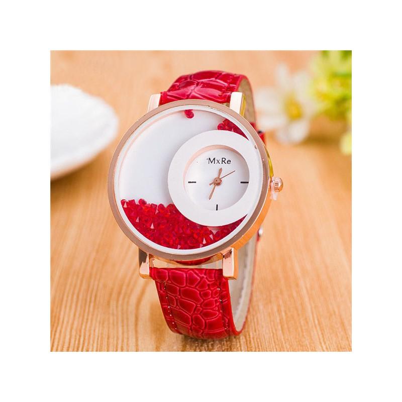 Dámske náramkové hodinky crystals