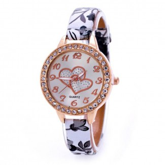 Dámske náramkové hodinky heart 32